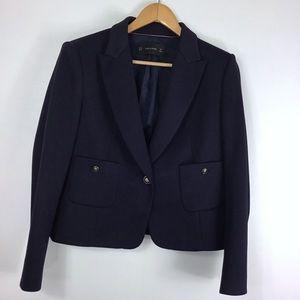 Zara Navy Blazer XL
